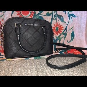 Michael Kors mini black purse